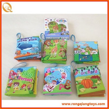 Other Educational Toys,Children Book/Story Book Type baby cloth book SS2654JL553