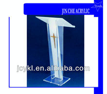 Clear Acrylic Church Lectern Podium