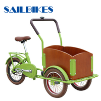 strong body new non electric kids bicycles with cargo