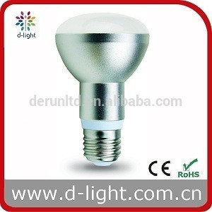 SMD R63 8W 640lm E27 B22 base Aluminum and Plastic cover home lighting led bulb lights buy direct form China factory