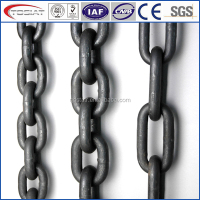 Welded and galvanized lashing chain /binding chain