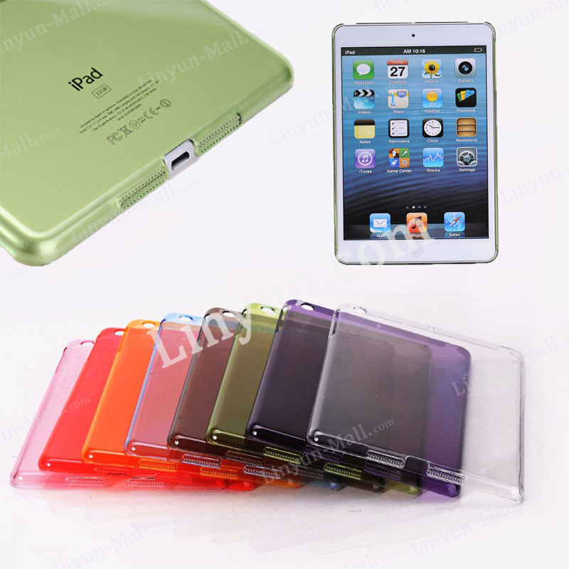 for ipad mini 1 2 3 clear cover, for ipad mini 1 2 3 clear soft back cover