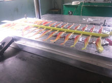 New mould development and CNC cutting mould for soft bait