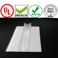 supermarket hinged data strip price sign holder