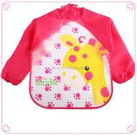 Personalized soft waterproof eva baby bib easy to clean