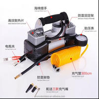 Car/bicycle/balloon electric inflator tire air pump 12v dc mini tyre inflator portable car inflator pump auto air