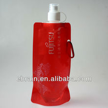 advertising plastic soft water bottle for promotion