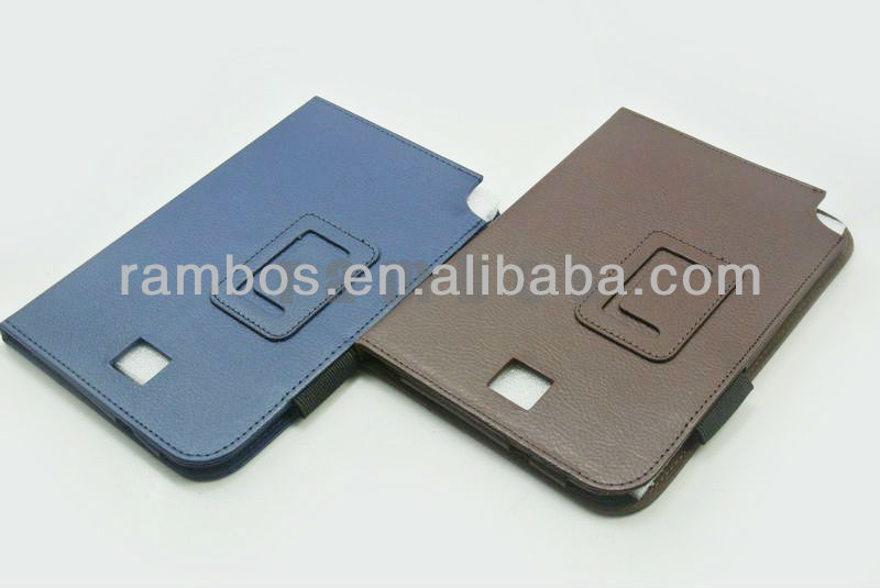 Leather Case Smart Cover for Samsung Galaxy Note 8.0 N5100, 8 inch Tablet PC
