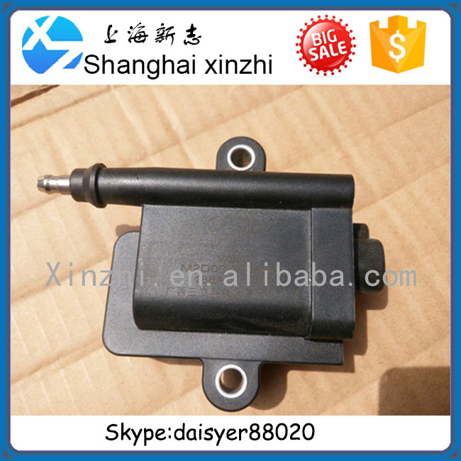 Yuchai natural gas YC6MK engine lgnition coils M2D00-3705061 gas Yutong Bus accessories, accessories Jinlong gas buses, CNG LNG
