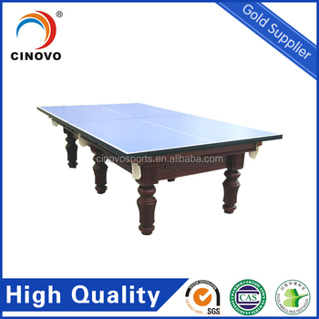 Pool Table with Table Tennis Table