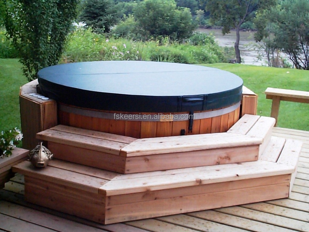 Best selling outdoor waterproof durable custom made spa cover for hot tubs