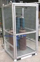 Zinc Plated Gas Cylinder Cage