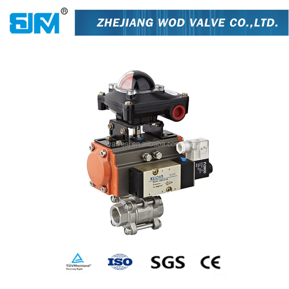 Cheap price NPT BSPT threaded electric water shut off valve electric actuator price
