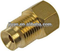 OEM high quality stainless steel sleeve nut brass square tube male sex tube