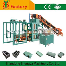 Factory sells QT4-20 concrete block making machine price in india, hollow block making machine