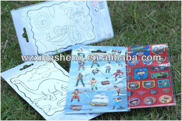 2013 Wholesale fashion promotion pvc sticker Packaging Label stickers+infantiles