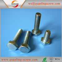 Trustworthy china supplier thin head hex furniture screws connecting bolts
