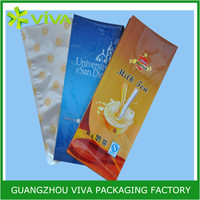 Custom color printing plastic food packaging bag