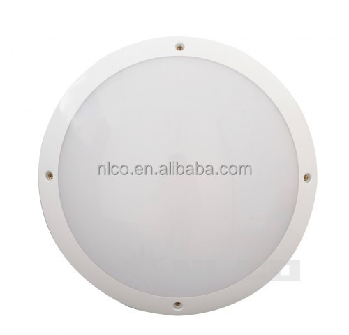 IP65 waterproof motion sensor plastic cover led ceiling lamp for outdoor