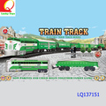hot selling kids toy train toy remote control toy train track with light & sound