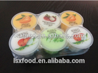 Mix Fruity Pudding with Nata De Coco (6 in 1)