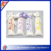 2015new design hot selling high quality customized fragrance scented bag closet air freshener wholesaler