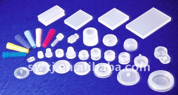 Silicone transparent rubber feet