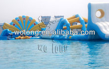 aquapark concept inflatable aqua park