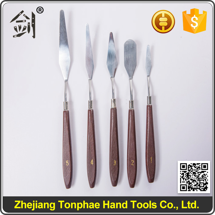 High Carbon Steel Blade Palette Knife for Professional Oil Paniting
