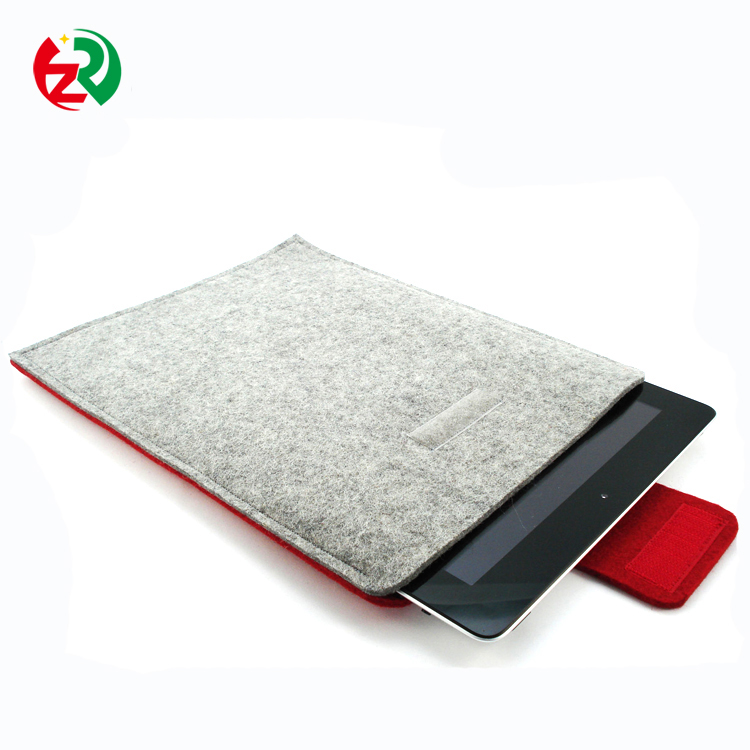 Beautiful mobile phone back cover water proof felt cell phone case packaging with free sample