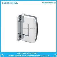 Everstrong double side shower screen hinge ST-A063 Brass or zinc alloy 90 degree wall to glass shower door hinge