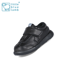 Leather material boys and girls fancy brand baby casual shoes,wholesale baby shoes
