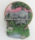 cheer for the olympic athletes---2012 new design lively resin elephant sculpture
