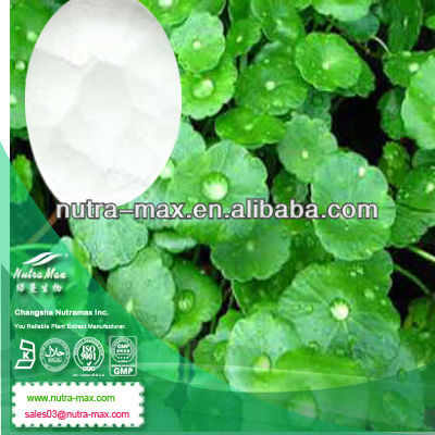 ISO Natural Asiaticoside Powder 50% Asiaticosides by HPLC, centella asiatica extract 10% asiaticoside with Best Price