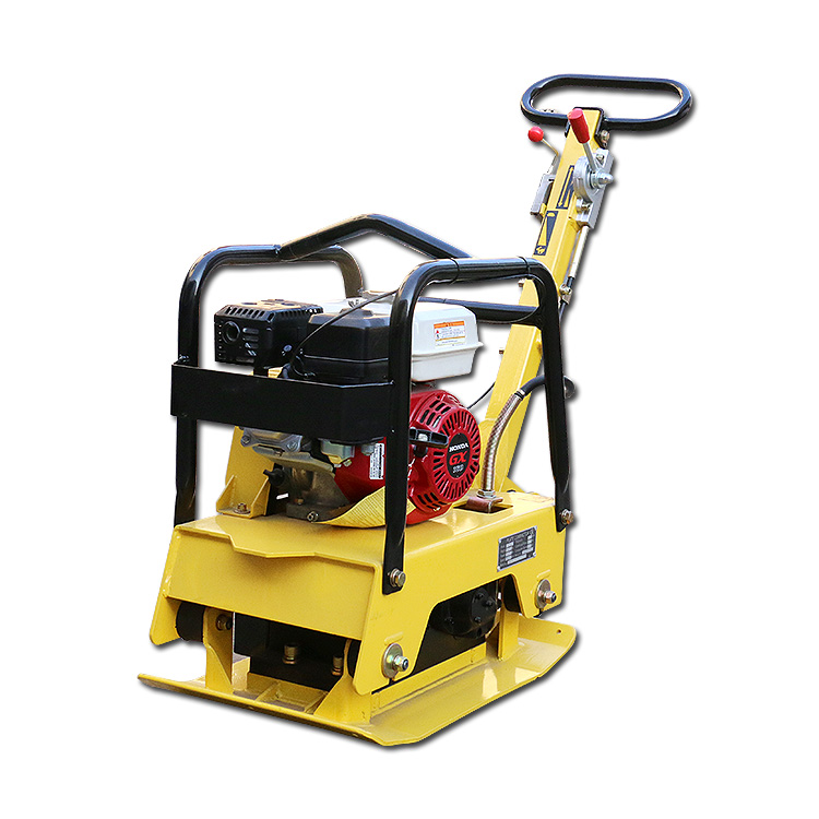VOTE VTP-25A 5.5HP Hydraulic <strong>Centrifugal</strong> <strong>Clutch</strong> Reversible Vibrating Plate Compactor for Sale
