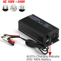 wholesale electric 12v 8A lead acid battery charger for lawn mower , e-bike, scooters