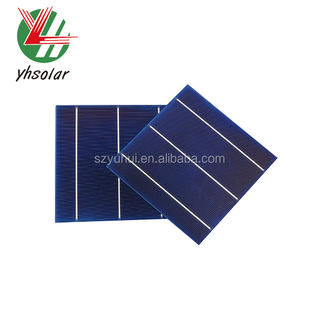Poly silicon Polycrystalline solar cell size (156mm *156mm ) and solar panels made in china