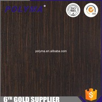 Factory Direct Sales Wood Grain Self Adhesive Decorative Film For Furniture Panel For MDF