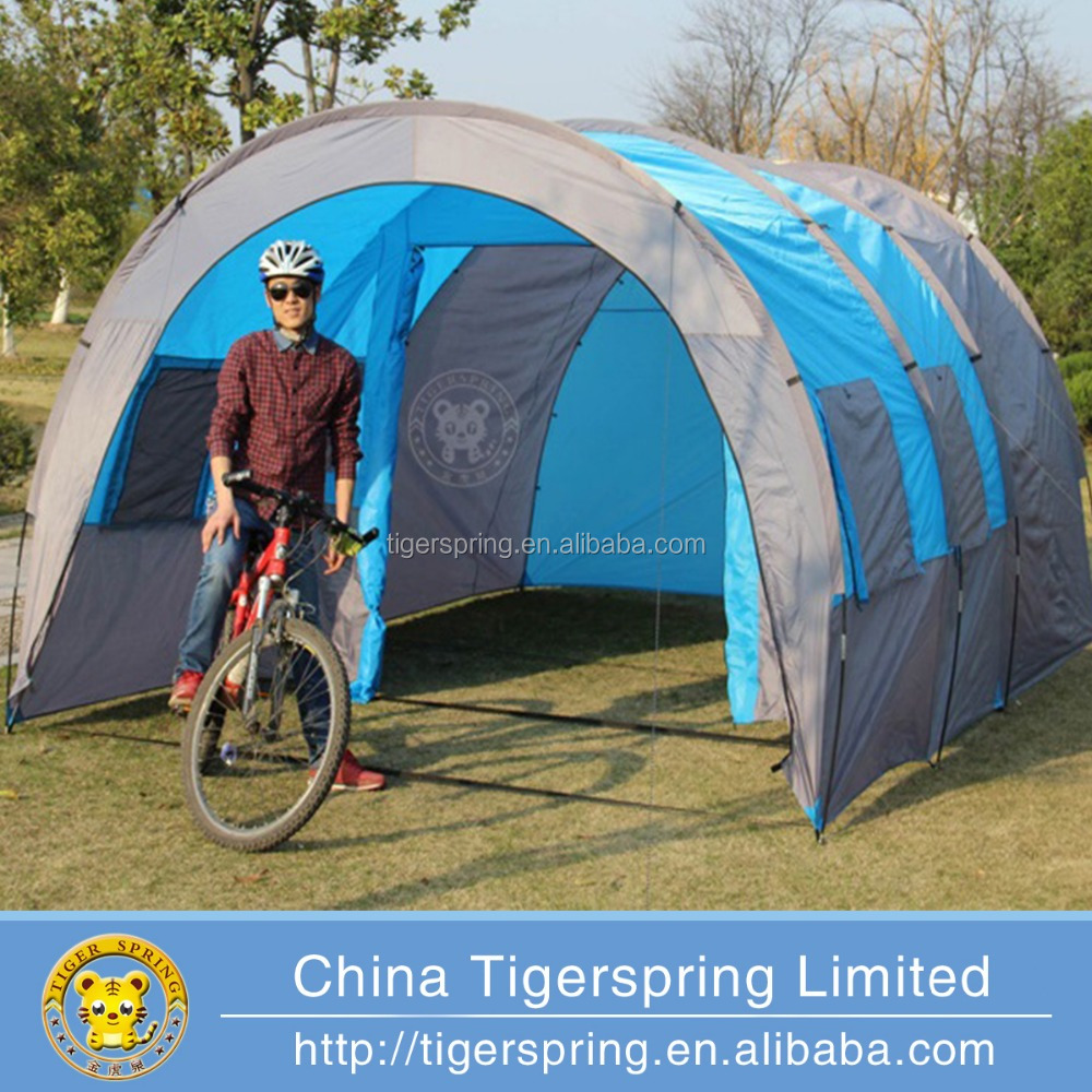 Outdoor activities folding tunnel camping car tent