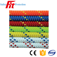 12mm high strength flat colored nylon rope