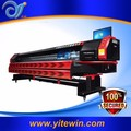 Hot Sale 3.2m Taimes Outdoor Inkjet Digital Poster T5 Solvent Printer with Konica Print Head