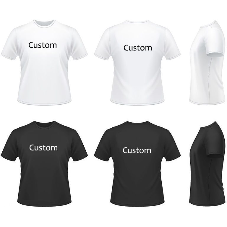 Factory Direct Various Styles Custom Print T-shirt
