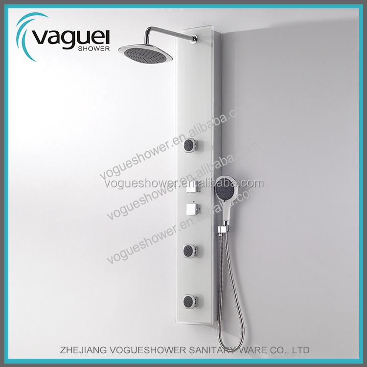 Elegant design decorative shower panel tempered glass for Decorative tempered glass panels