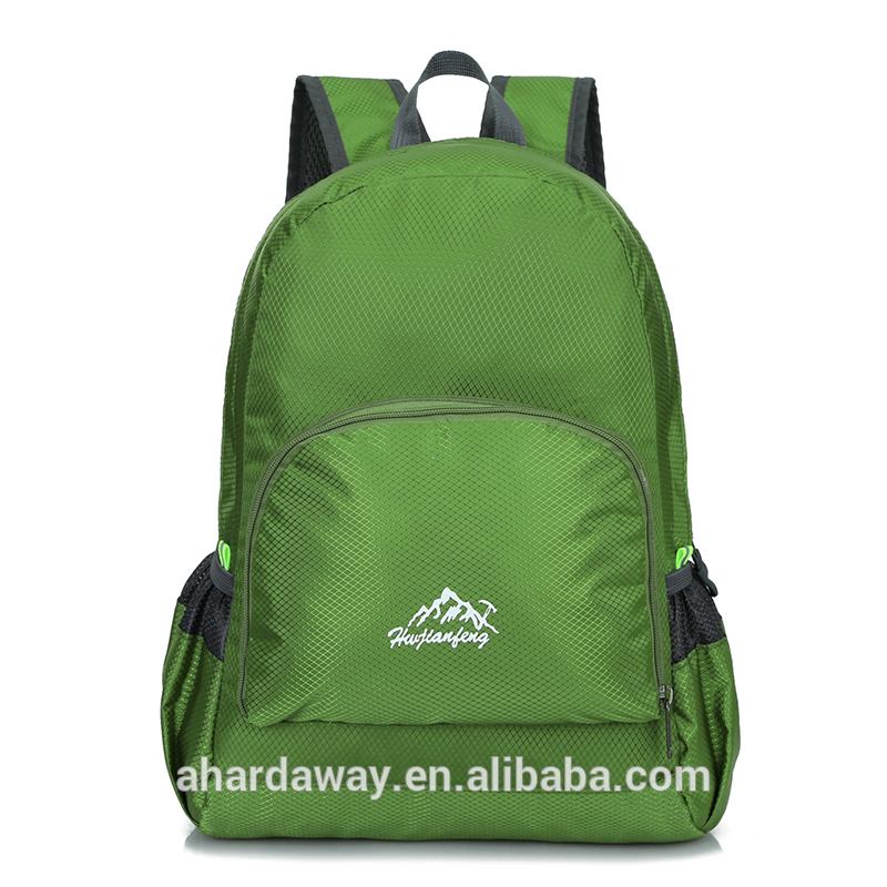 Wholesale high quality small size folding travel backpack