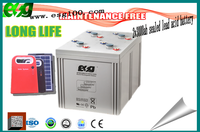 Agm battery 2v 3000ah high discharge rate battery lead acid dry ups rechargeable battery