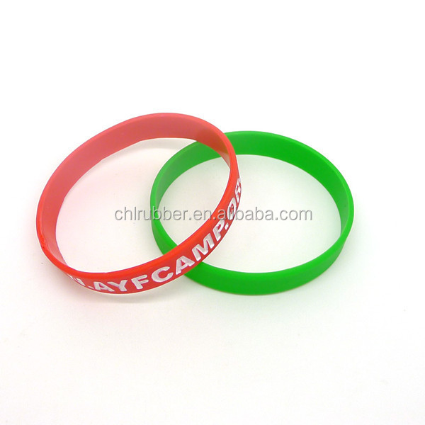 cheap custom silicon bracelet wrist band