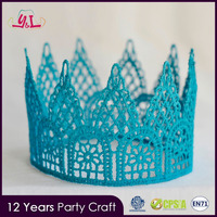 2016 New Decorations Birthday Party Supplies Newborn Baby Mini Lace Crown