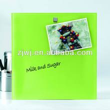 China Easy wipe Magnetic Glass board for office use