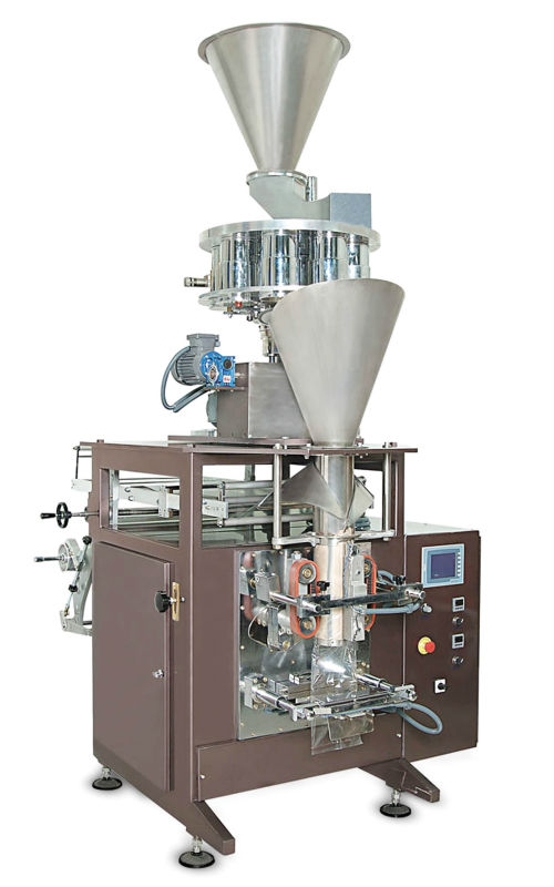 VSVP 1000 Volumetric System Vertical sesame, thyme; dried nuts and fruit products Packaging Machine