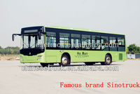 2013 popular howo city bus for sale in Europe